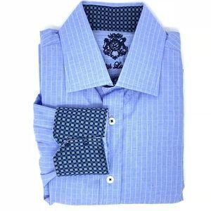 English Laundry Men's Button Down Dress Shirt